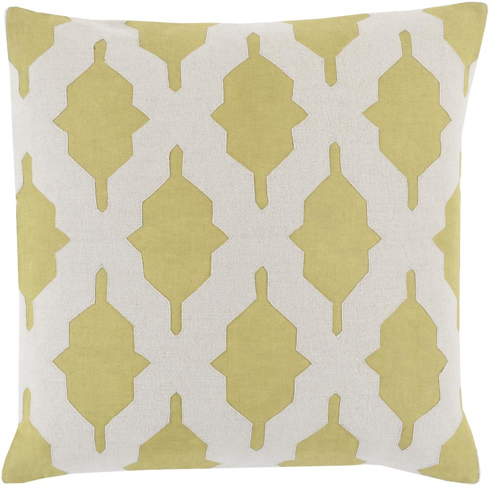 "Surya Pillows 22"" x 22"" Decorative Pillow - Item Number: SA006-2222P"