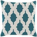 "Surya Pillows 22"" x 22"" Decorative Pillow - Item Number: SA007-2222P"
