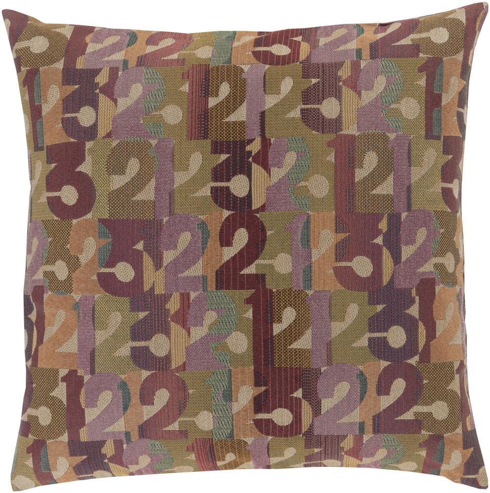 """Surya Pillows 18"""" x 18"""" Decorative Pillow - Item Number: SHP001-1818P"""