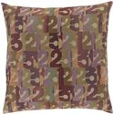 "Surya Pillows 22"" x 22"" Decorative Pillow - Item Number: SHP001-2222P"