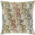 "Surya Rugs Pillows 20"" x 20"" Decorative Pillow - Item Number: SHP002-2020P"