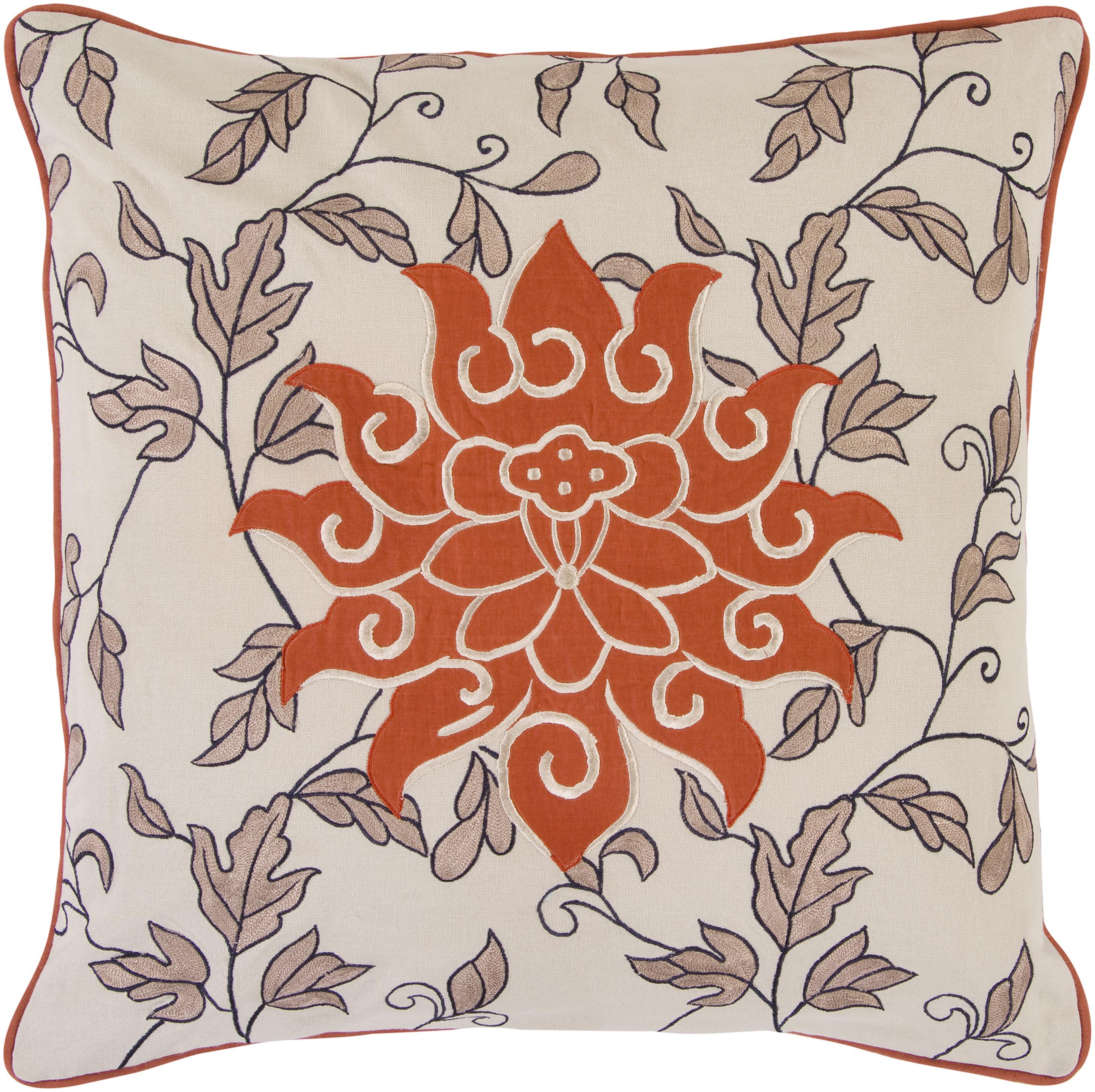 "Surya Rugs Pillows 18"" x 18"" Pillow - Item Number: SI2000-1818P"