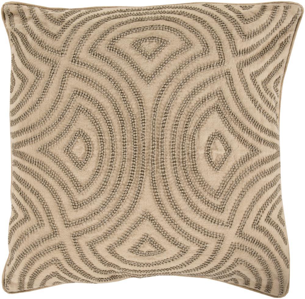 "Surya Rugs Pillows 20"" x 20"" Skinny Dip Pillow - Item Number: SKD002-2020P"
