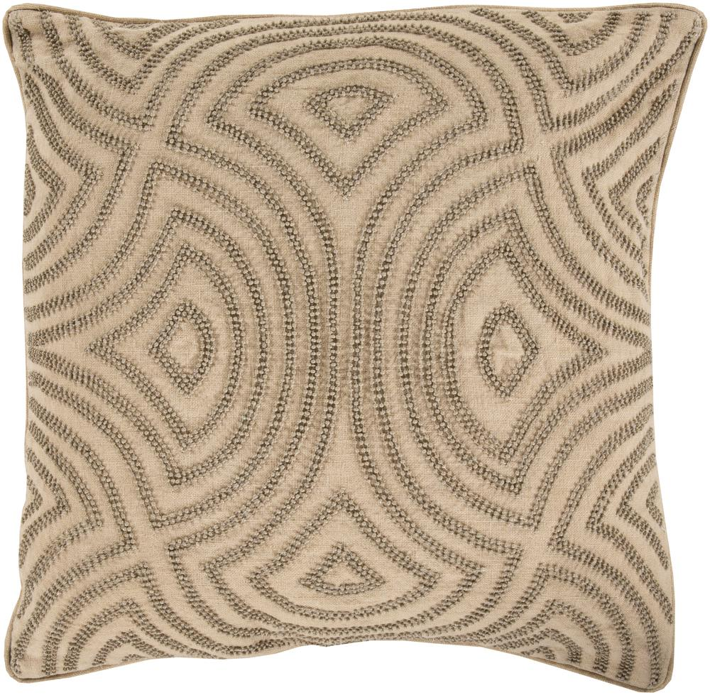 "Surya Pillows 22"" x 22"" Skinny Dip Pillow - Item Number: SKD002-2222P"