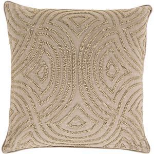 """Surya Pillows 20"""" x 20"""" Skinny Dip Pillow"""