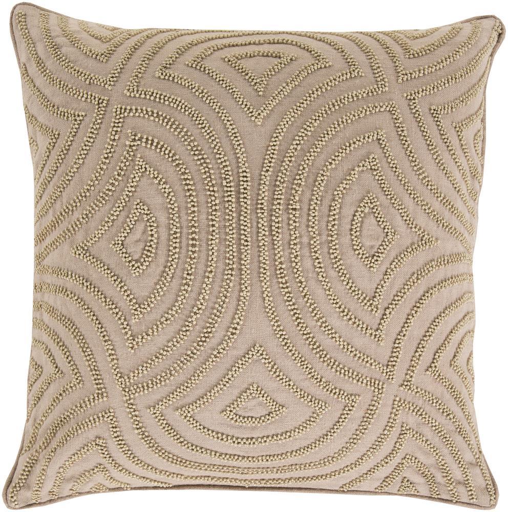 "Surya Pillows 22"" x 22"" Skinny Dip Pillow - Item Number: SKD004-2222P"