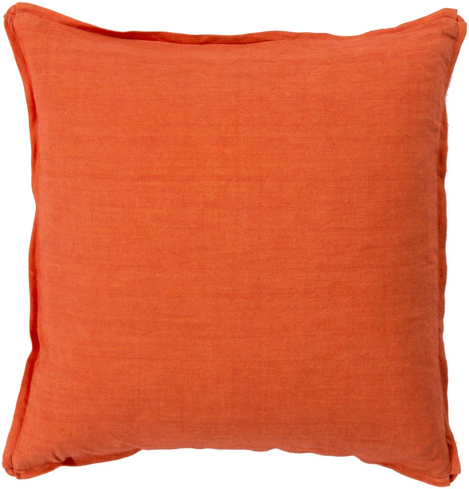 "Surya Pillows 18"" x 18"" Solid  Pillow - Item Number: SL003-1818P"
