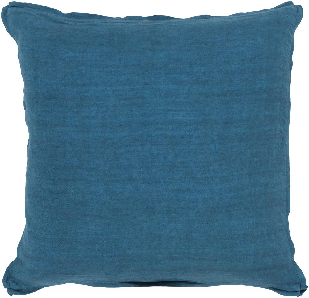 "Surya Pillows 18"" x 18"" Solid  Pillow - Item Number: SL006-1818P"