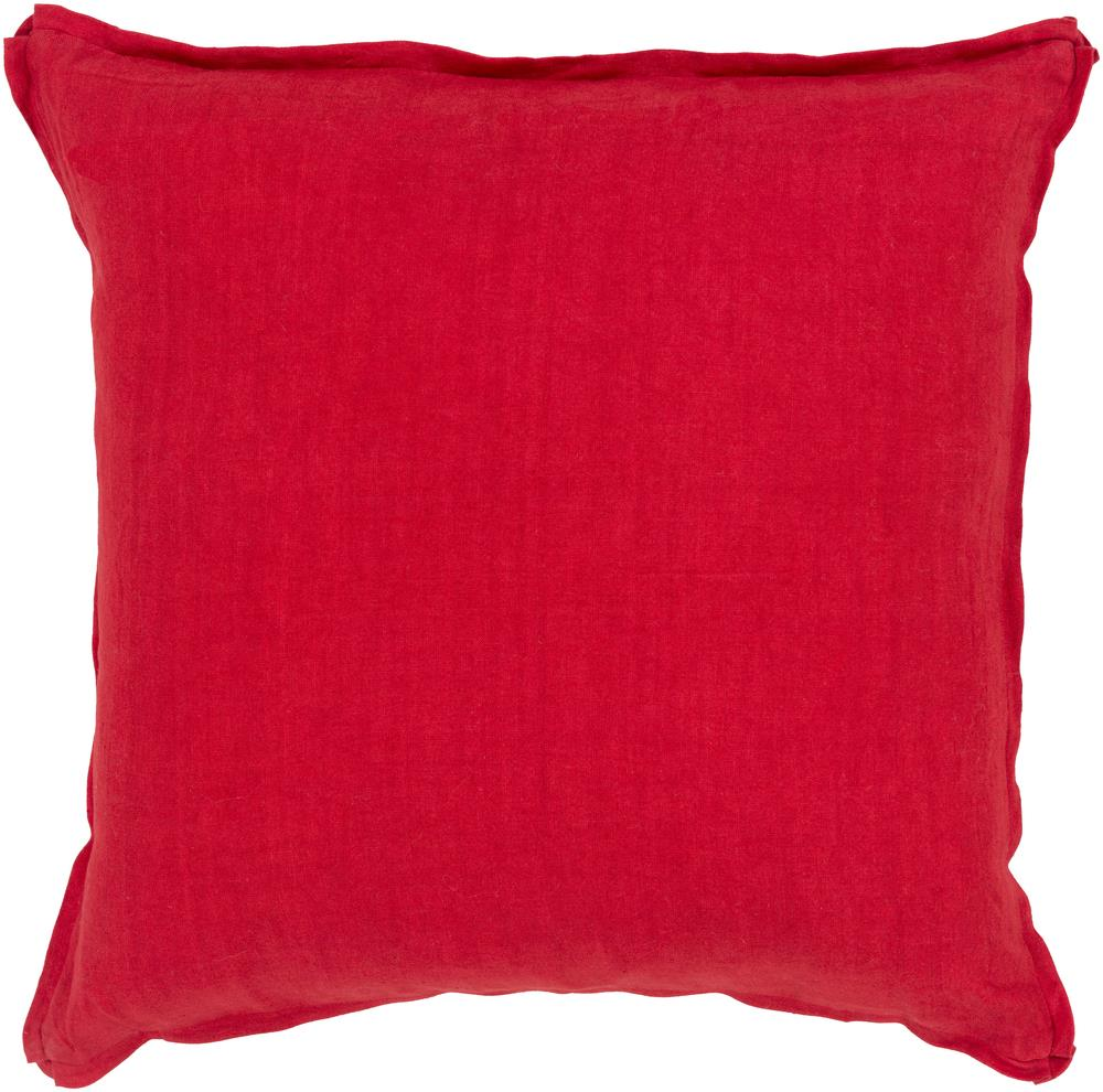 "Surya Pillows 18"" x 18"" Solid  Pillow - Item Number: SL007-1818P"