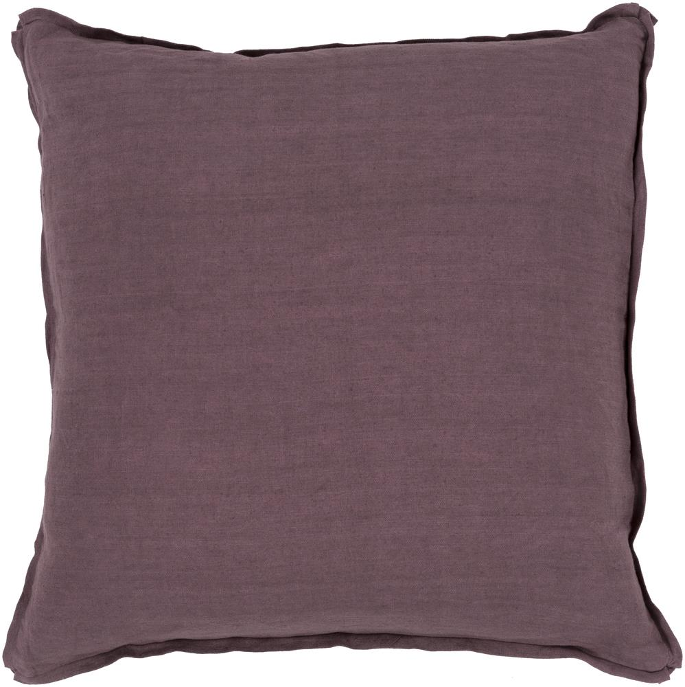 "Surya Pillows 18"" x 18"" Solid  Pillow - Item Number: SL010-1818P"