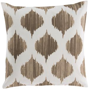 "Surya Rugs Pillows 22"" x 22"" Ogee Pillow"