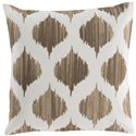 "Surya Pillows 22"" x 22"" Ogee Pillow - Item Number: SY018-2222P"