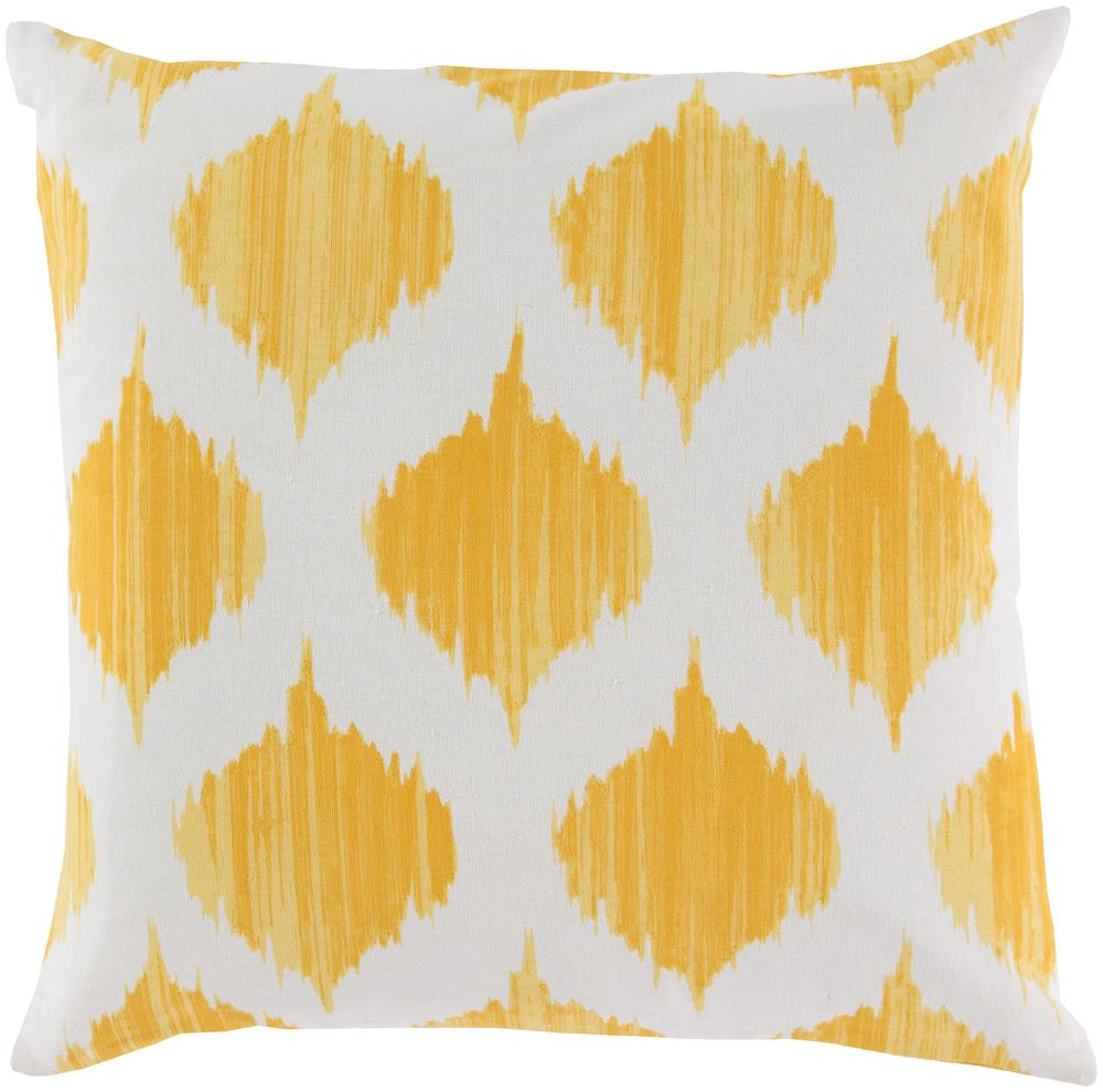 "Surya Pillows 18"" x 18"" Ogee Pillow - Item Number: SY020-1818P"