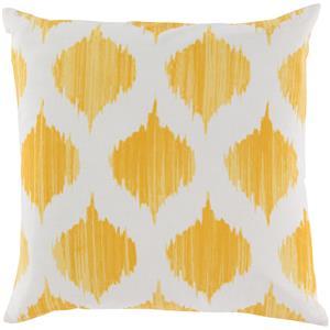 """Surya Rugs Pillows 18"""" x 18"""" Ogee Pillow"""