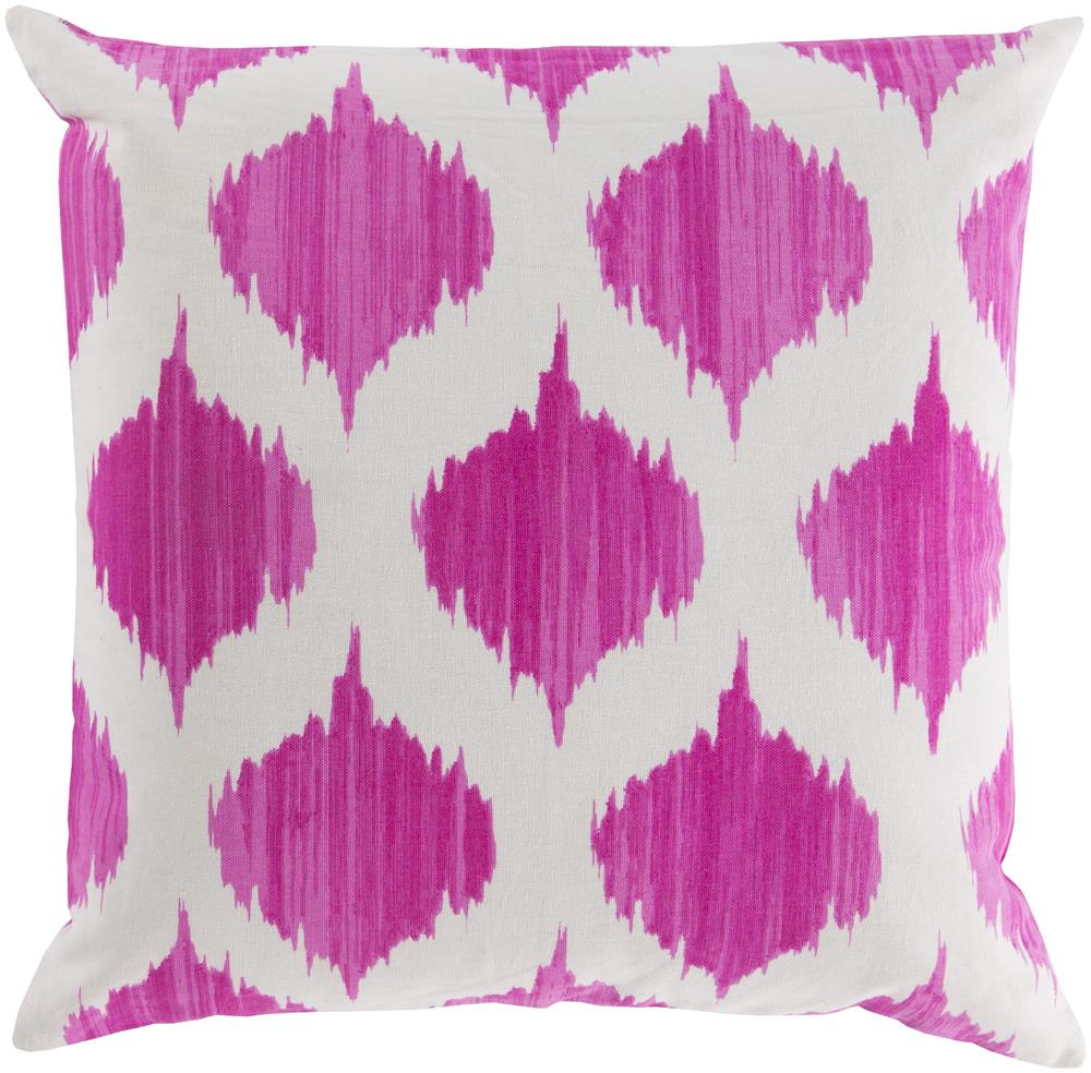 "Surya Pillows 18"" x 18"" Ogee Pillow - Item Number: SY027-1818P"