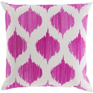 "Surya Pillows 22"" x 22"" Ogee Pillow"