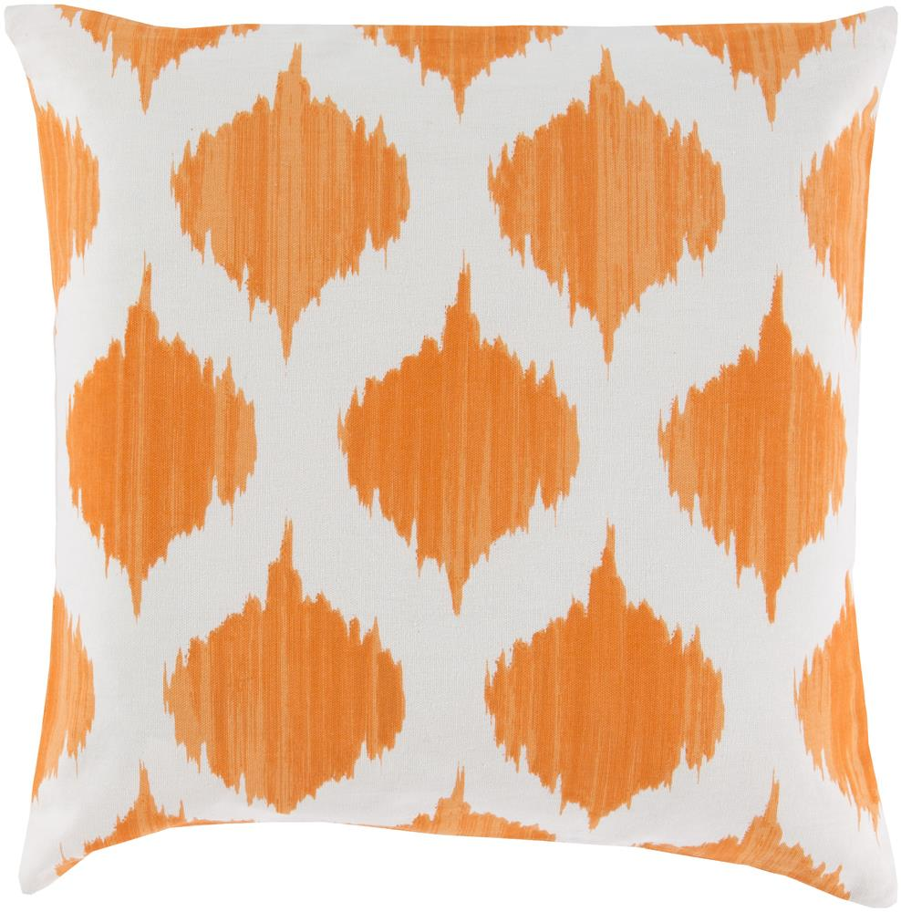 "Surya Pillows 18"" x 18"" Ogee Pillow - Item Number: SY031-1818P"