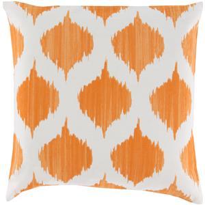 """Surya Pillows 22"""" x 22"""" Ogee Pillow"""