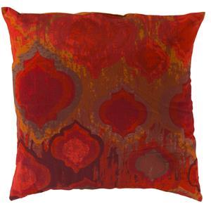 "Surya Pillows 22"" x 22"" Watercolor Pillow"