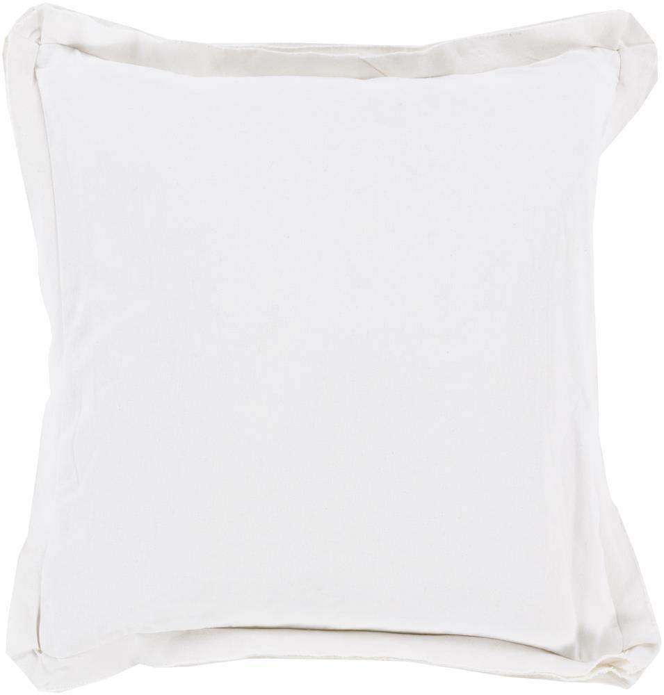 "Surya Pillows 22"" x 22"" Triple Flange Pillow - Item Number: TF005-2222P"