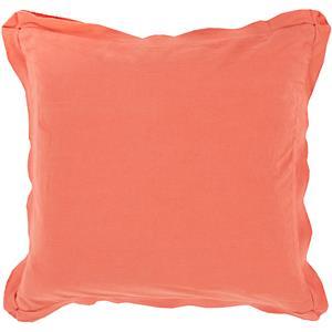 "Surya Pillows 22"" x 22"" Triple Flange Pillow"