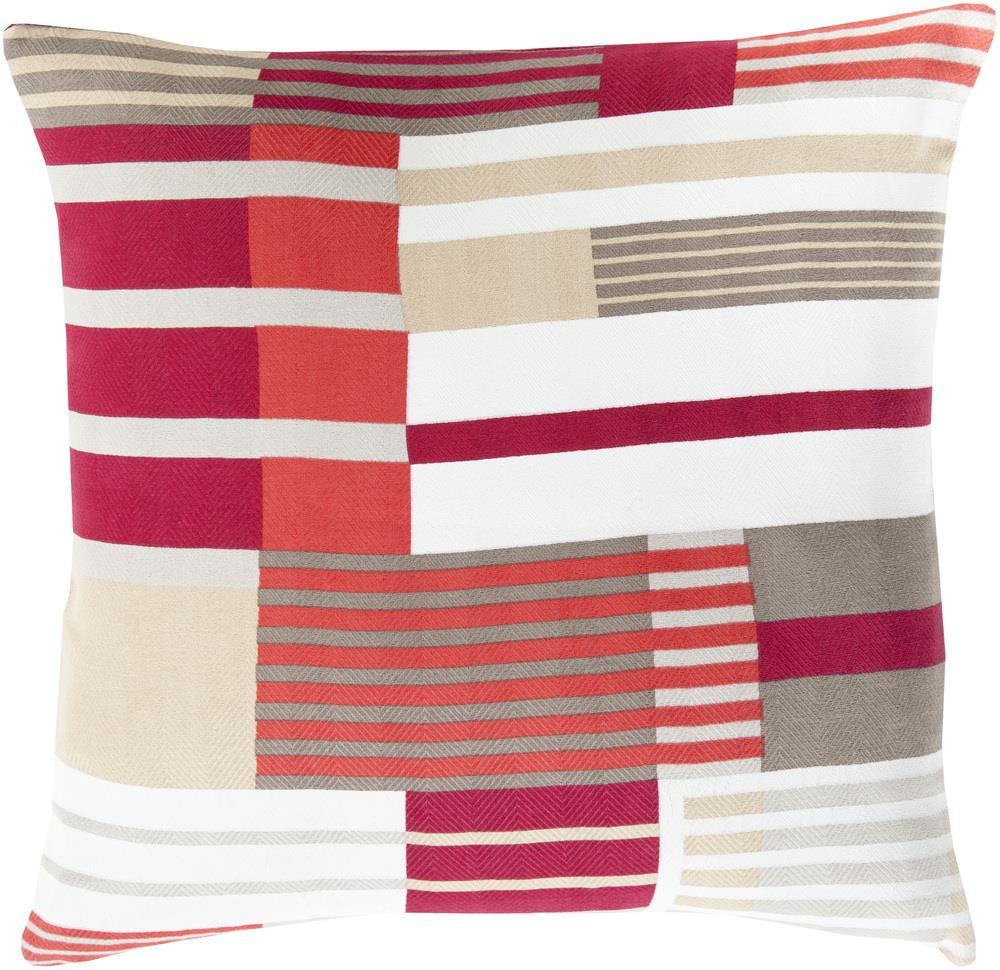 """Surya Pillows 20"""" x 20"""" Decorative Pillow - Item Number: TO001-2020P"""