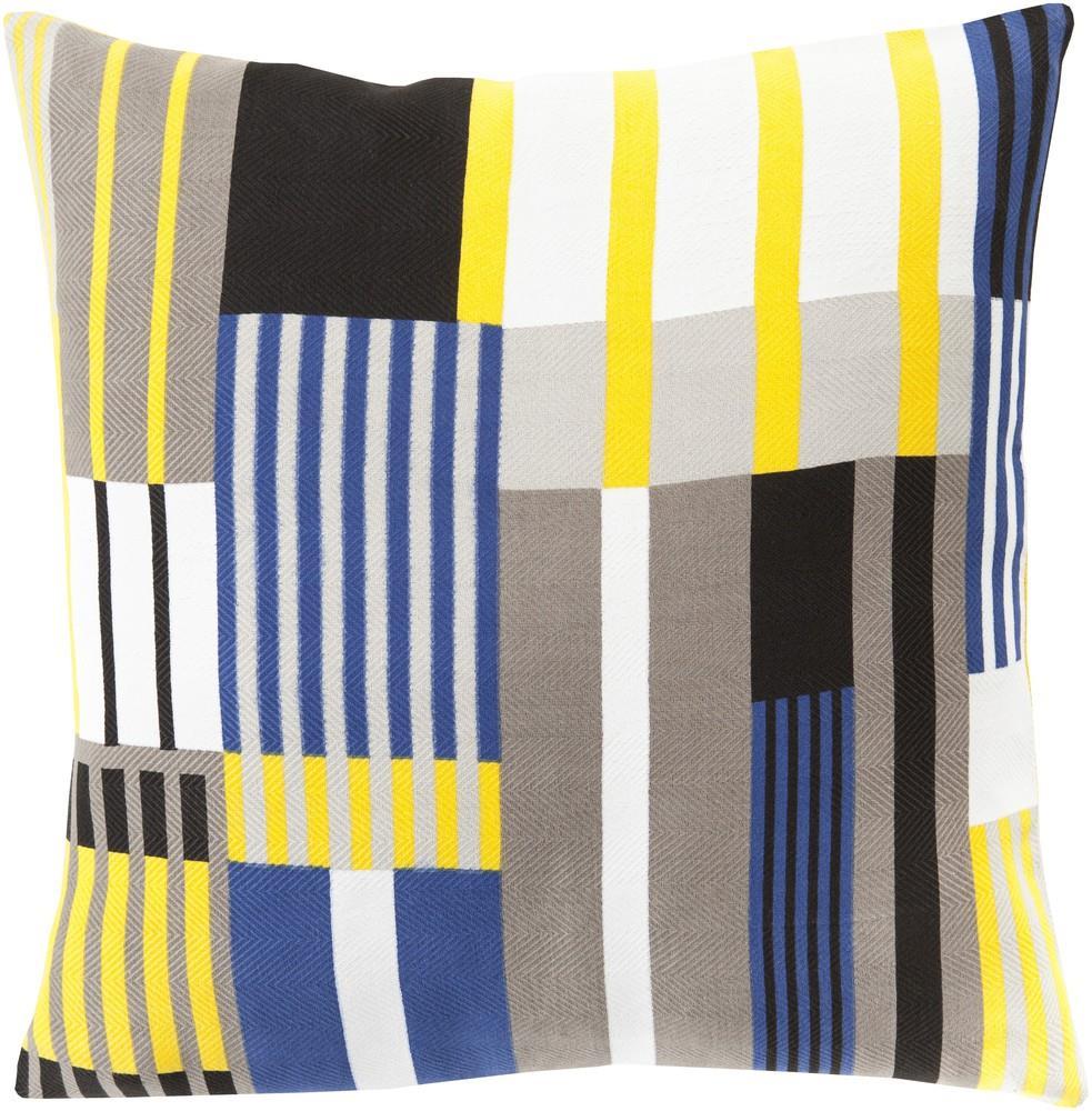 "Surya Rugs Pillows 20"" x 20"" Decorative Pillow - Item Number: TO003-2020P"
