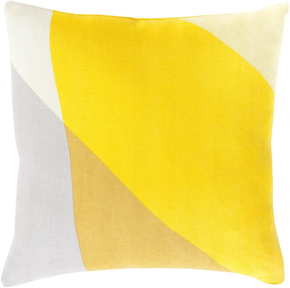 "Surya Pillows 22"" x 22"" Decorative Pillow - Item Number: TO008-2222P"
