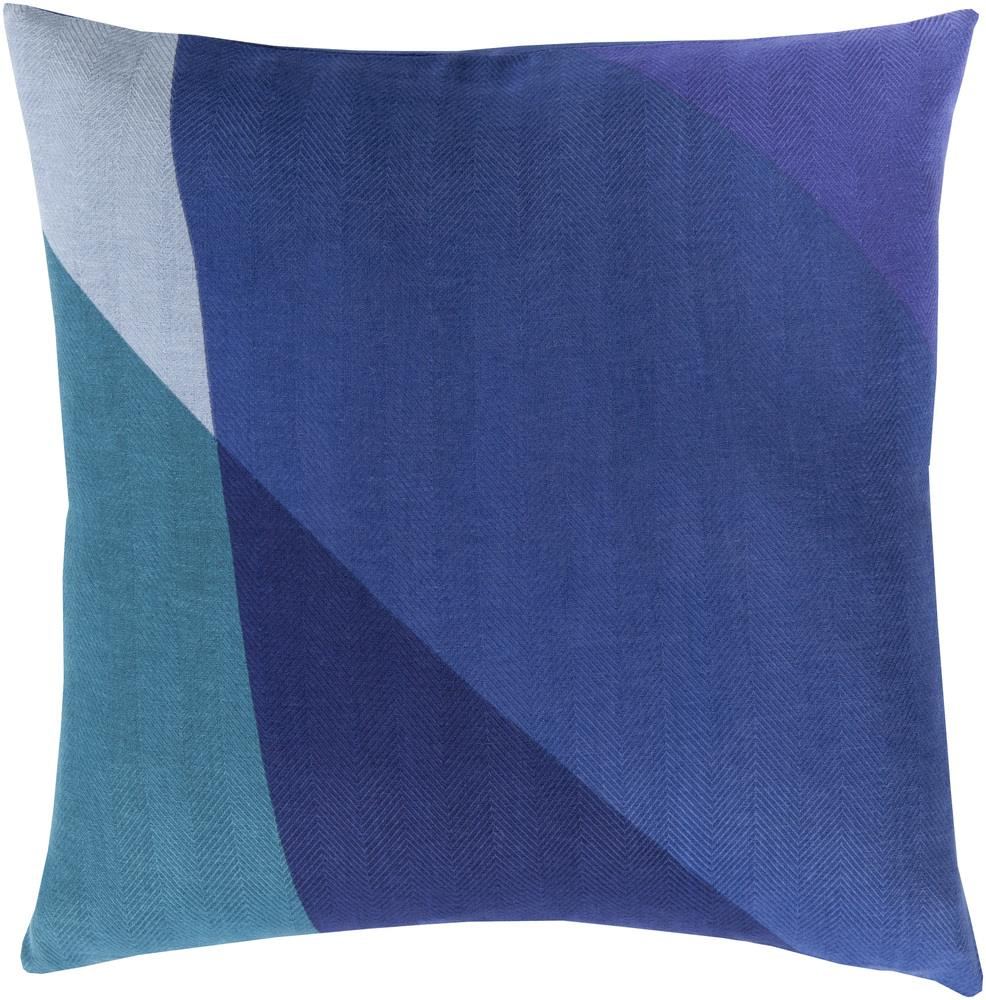 "Surya Pillows 18"" x 18"" Decorative Pillow - Item Number: TO009-1818P"