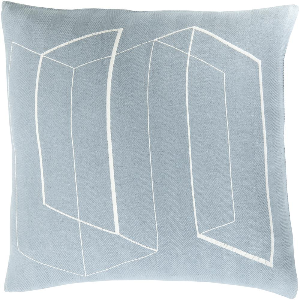 "Surya Pillows 20"" x 20"" Decorative Pillow - Item Number: TO010-2020P"