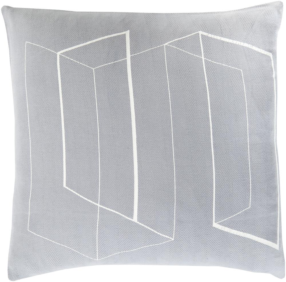 "Surya Pillows 22"" x 22"" Decorative Pillow - Item Number: TO011-2222P"