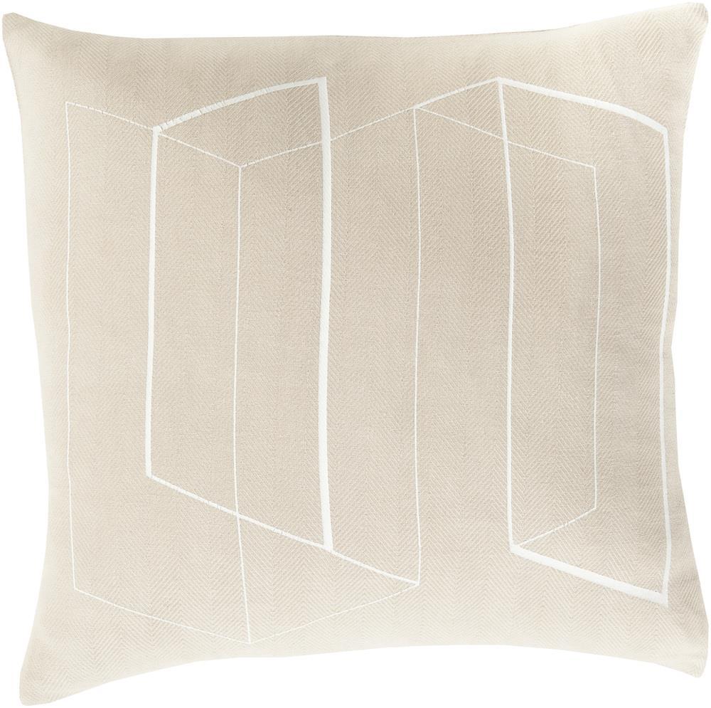 """Surya Pillows 22"""" x 22"""" Decorative Pillow - Item Number: TO012-2222P"""