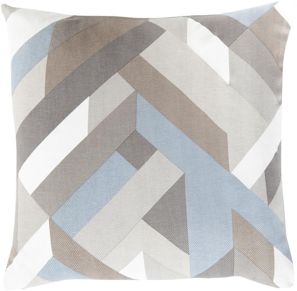 """Surya Pillows 18"""" x 18"""" Decorative Pillow - Item Number: TO014-1818P"""