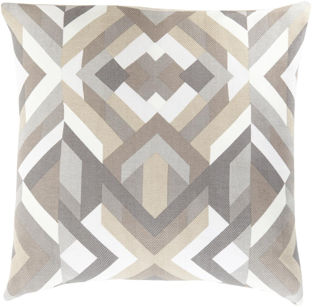 "Surya Rugs Pillows 18"" x 18"" Decorative Pillow - Item Number: TO016-1818P"
