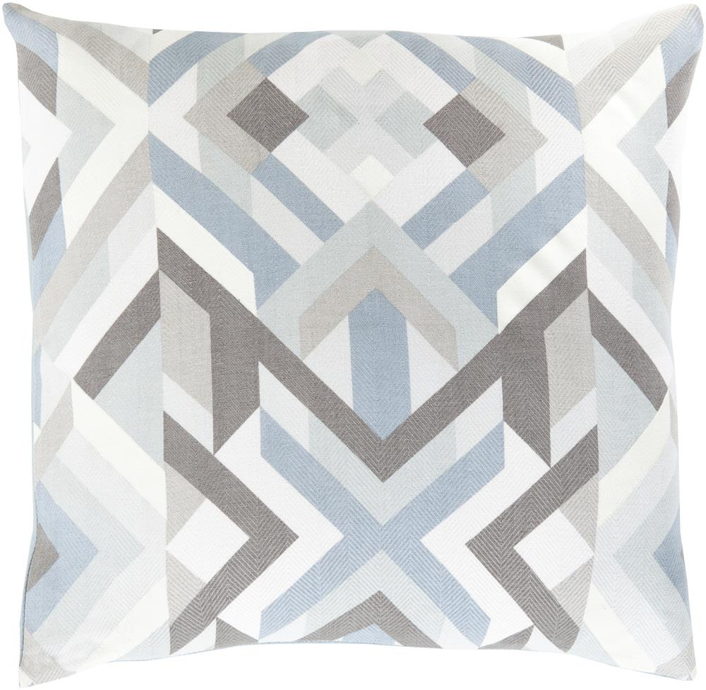 "Surya Rugs Pillows 20"" x 20"" Decorative Pillow - Item Number: TO017-2020P"