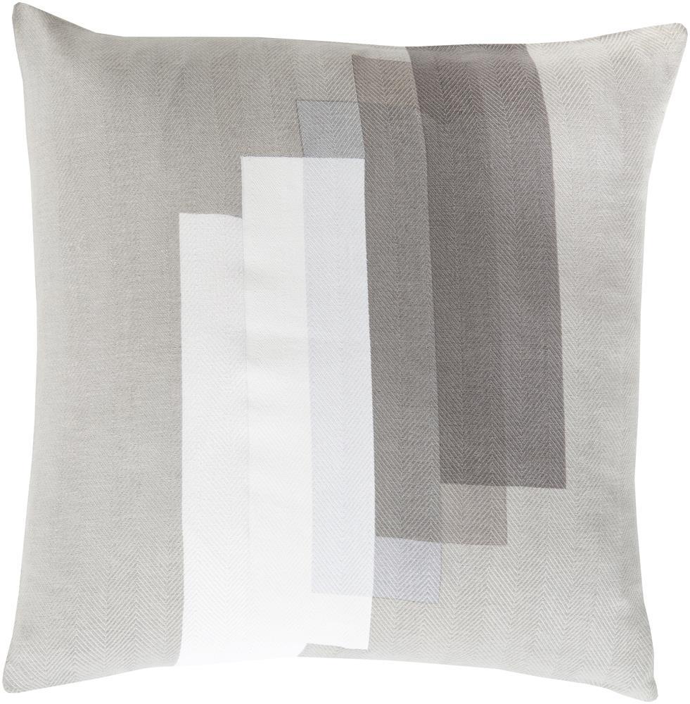 """Surya Pillows 22"""" x 22"""" Decorative Pillow - Item Number: TO019-2222P"""