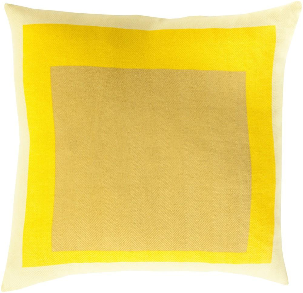 "Surya Rugs Pillows 18"" x 18"" Decorative Pillow - Item Number: TO022-1818P"
