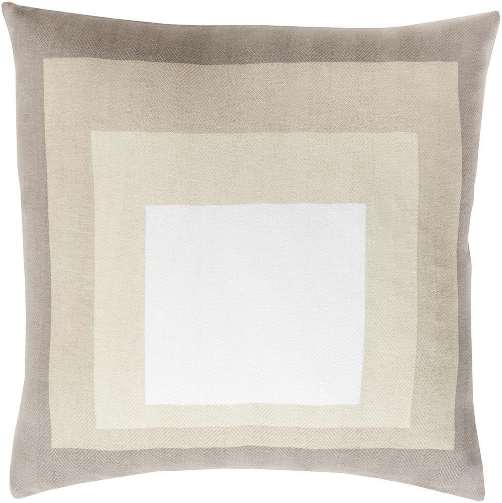 "Surya Pillows 20"" x 20"" Decorative Pillow - Item Number: TO023-2020P"