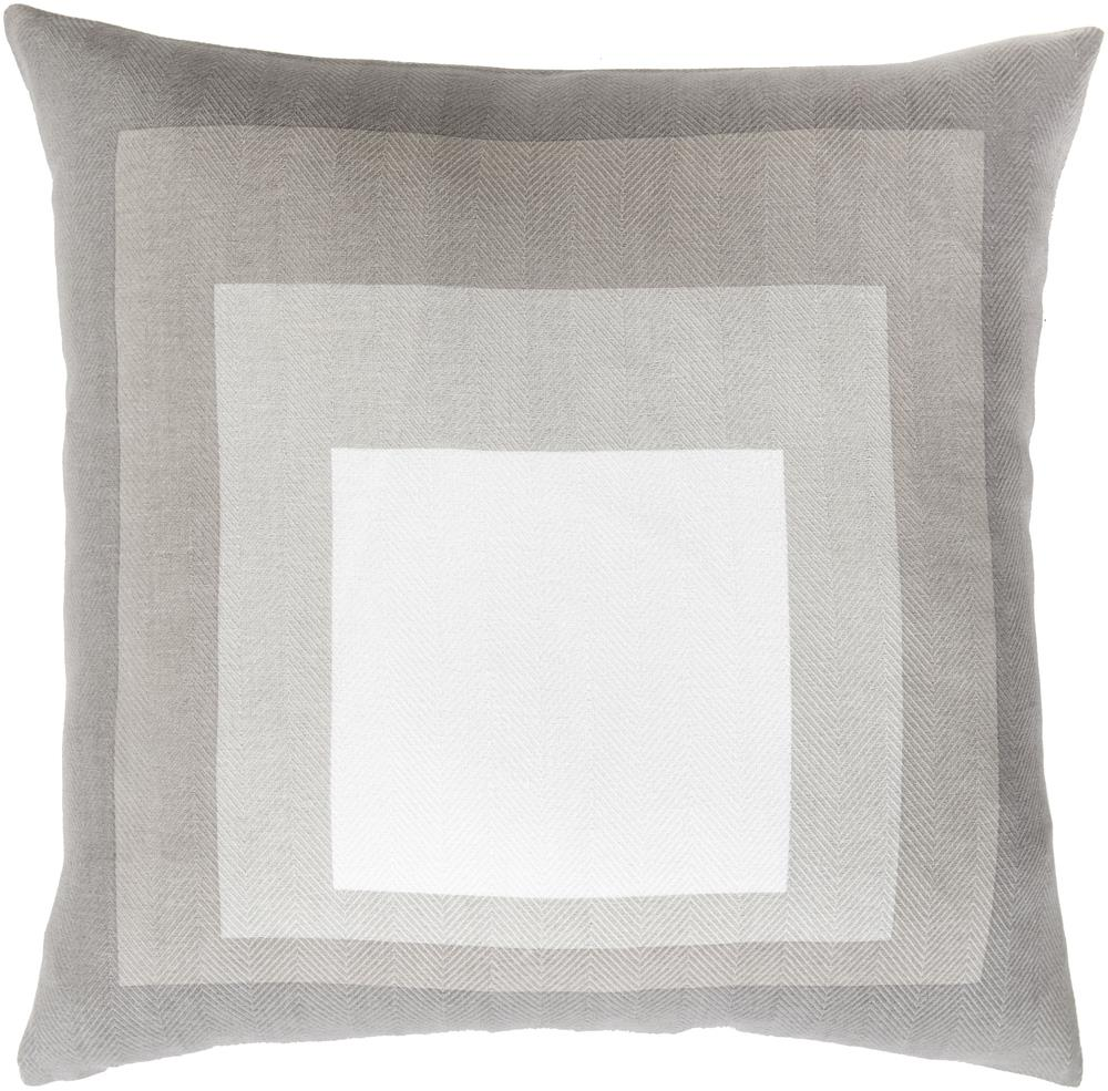 "Surya Pillows 18"" x 18"" Decorative Pillow - Item Number: TO025-1818P"