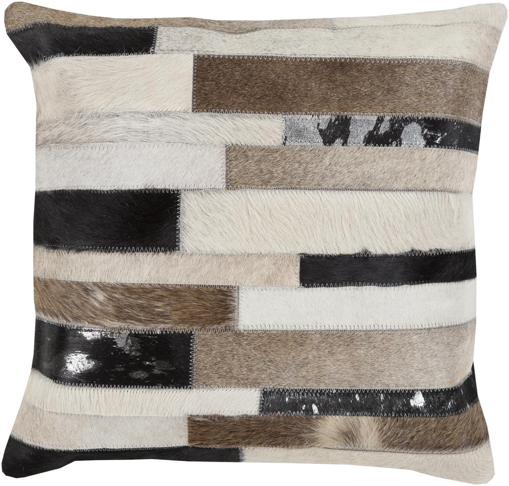 "Surya Pillows 20"" x 20"" Decorative Pillow - Item Number: TR001-2020P"