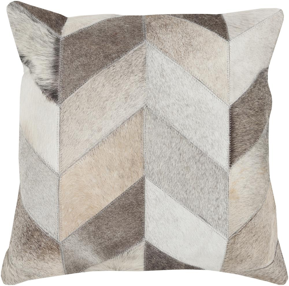 "Surya Pillows 20"" x 20"" Decorative Pillow - Item Number: TR003-2020P"