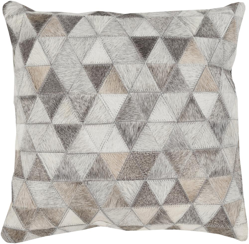 "Surya Pillows 18"" x 18"" Decorative Pillow - Item Number: TR004-1818P"