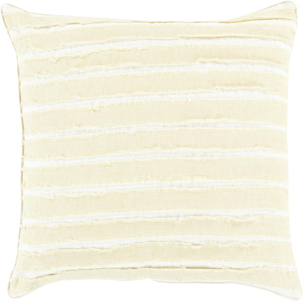 "Surya Rugs Pillows 22"" x 22"" Decorative Pillow - Item Number: WO001-2222P"