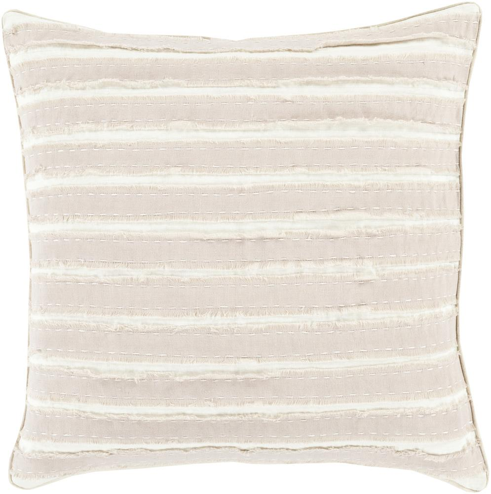 "Surya Pillows 18"" x 18"" Decorative Pillow - Item Number: WO002-1818P"
