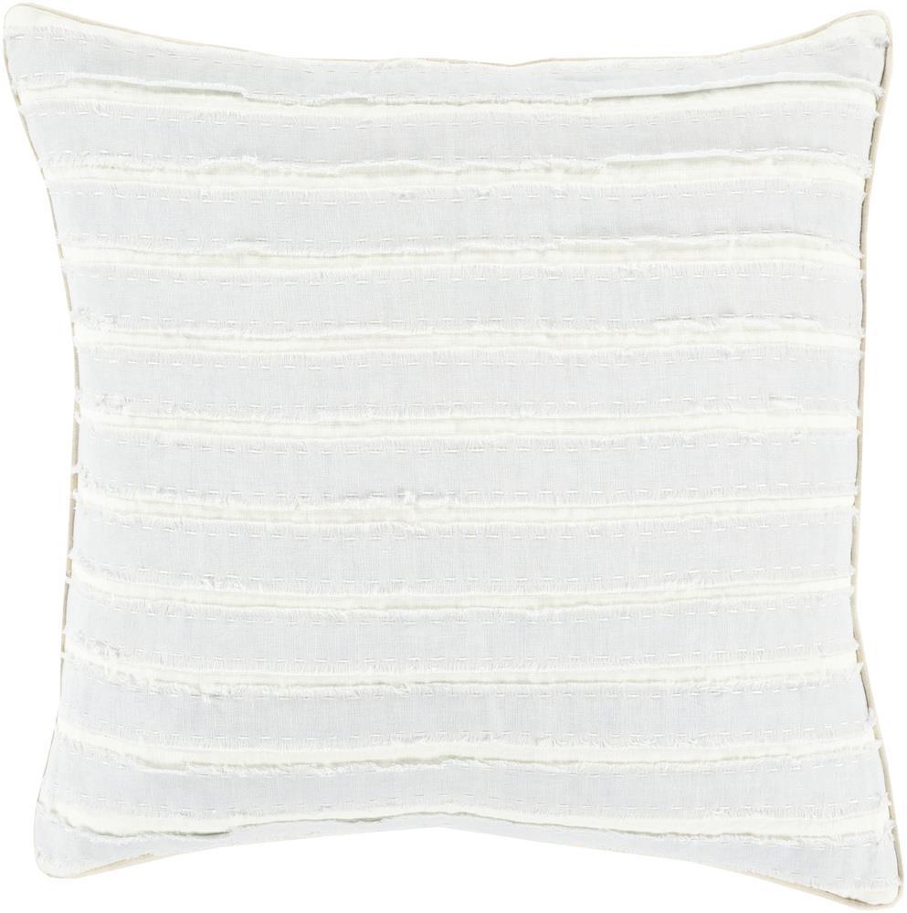 """Surya Pillows 20"""" x 20"""" Decorative Pillow - Item Number: WO003-2020P"""