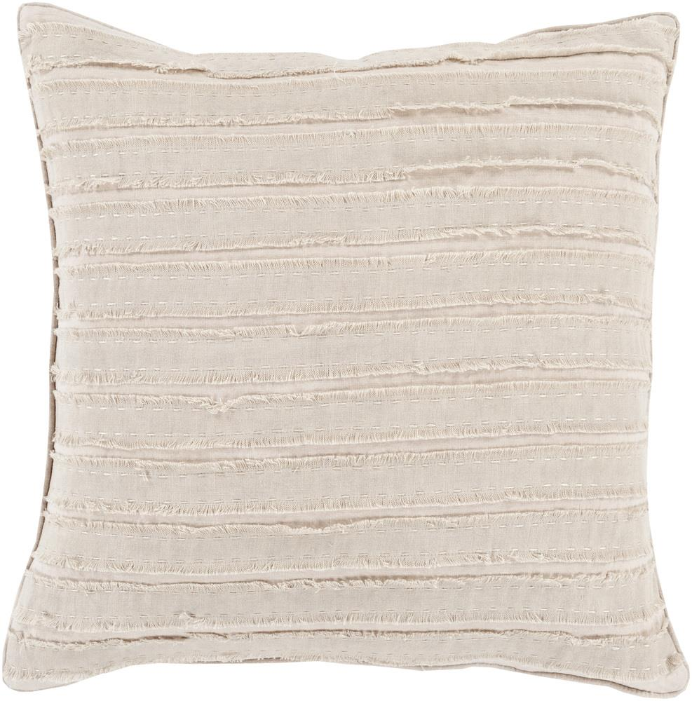 "Surya Pillows 20"" x 20"" Decorative Pillow - Item Number: WO005-2020P"