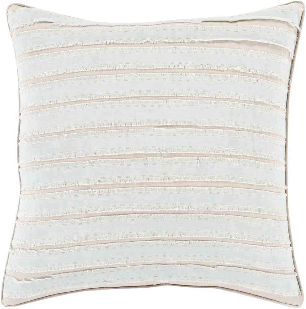 """Surya Pillows 18"""" x 18"""" Decorative Pillow - Item Number: WO006-1818P"""