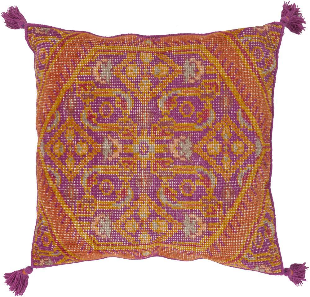 """Surya Pillows 30"""" x 30"""" Decorative Pillow - Item Number: ZP003-3030P"""