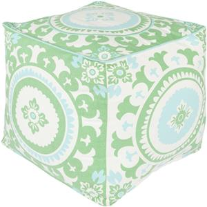 "Surya Rugs Poufs 18"" x 18"" x 18"" Kate Spain Pouf"