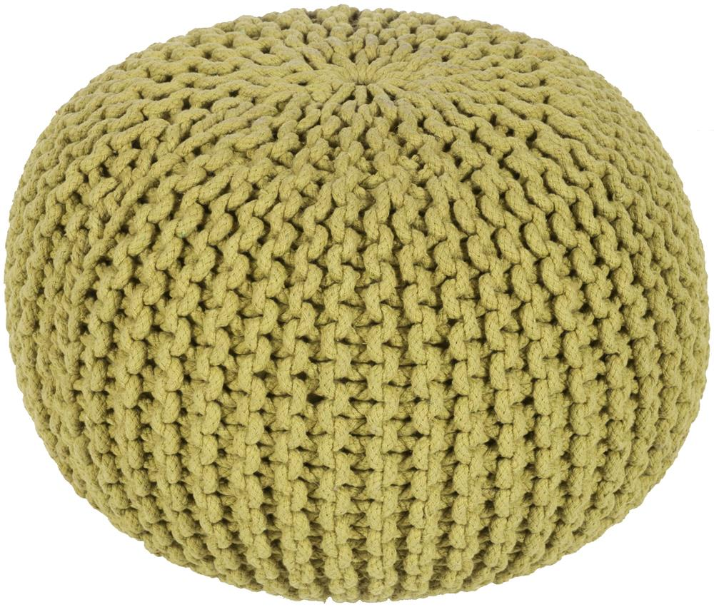 """Surya Rugs Poufs 20"""" x 20"""" x 14"""" Malmo Pouf - Item Number: MLPF-001"""
